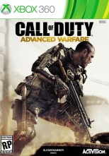 Call of duty advanced warfare Xbox 360 cover