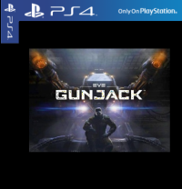 Eve Gunjack PS4 PSVR Cover