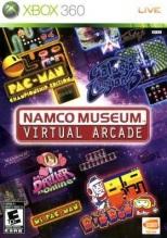 namco museum virtual arcade xbox 360 cover