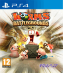 Worms Battleground PS4 cover