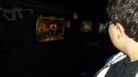 Ônibus com videogames Rodas da Diversão