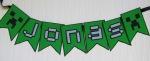 Bandeirinhas Minecraft