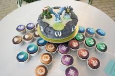 Rodas da Diversão - Skylanders cake and cupcake
