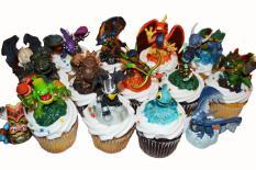 Rodas da Diversão - Skylanders cupcakes