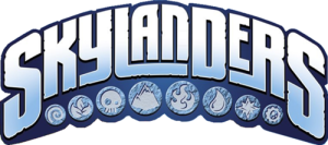 Rodas da Diversão - Skylanders logo