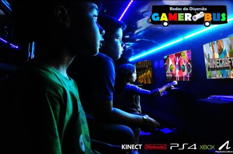 ônibus com videogames aluguel brasília
