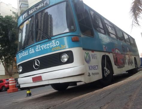 Ônibus com videogames