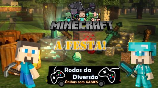 A festa do minecraft