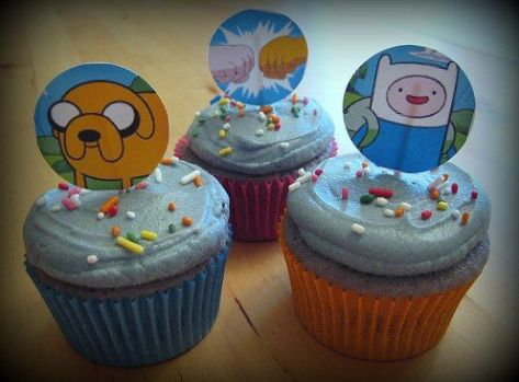 Cupcaks Hora da Aventura