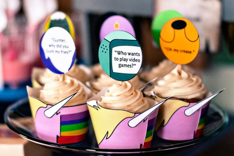 Cupcakes Hora da Aventura
