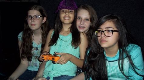 festa para meninas com games