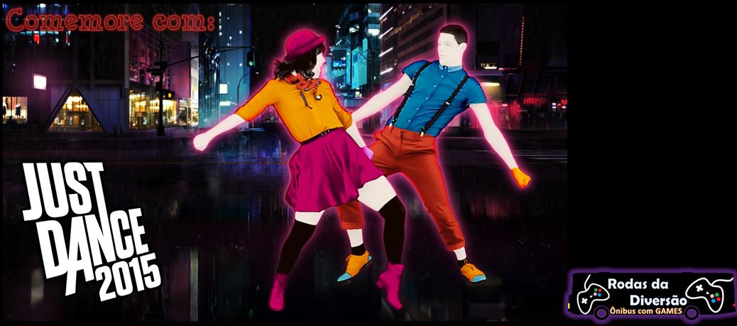 Ônibus festa Just Dance 2015