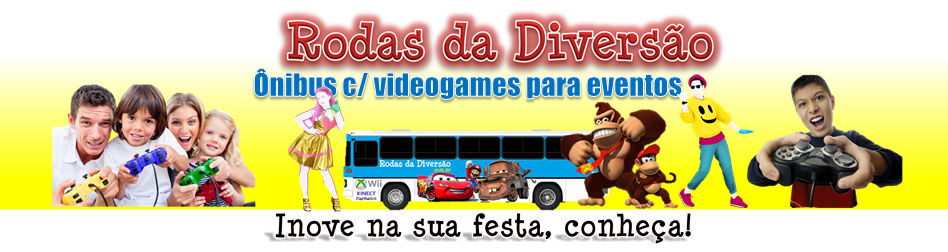 Festa infantil Brasília DF - Rodas da Diversão