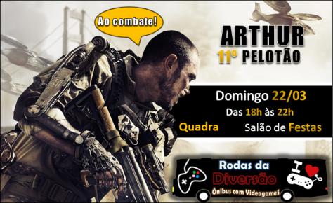 Convite Call of duty Advanced Warfare