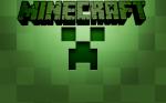 Fundo para convite do Creeper Minecraft