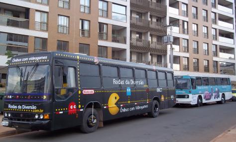 Ônibus games - Setor noroeste SQNW