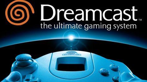 Videogame antigo Sega Dreamcast