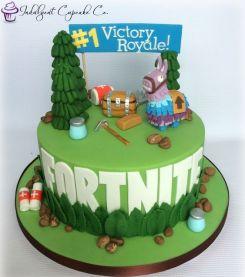Modelo bolo festa fortnite videogame