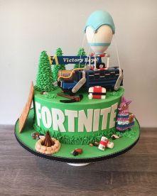 Modelo bolo festa fortnite